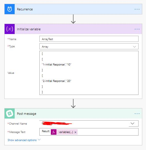 Solved: Using Array Variables in Flows - Power Platform Community