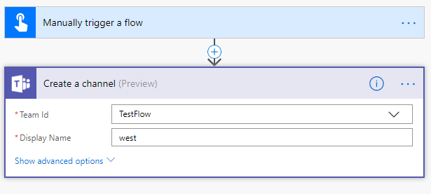 Teams Channel creation using flow, does not create    - Power