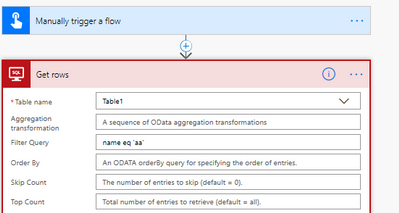 Solved: Flow suddenly failing at Get Rows SQL step with
