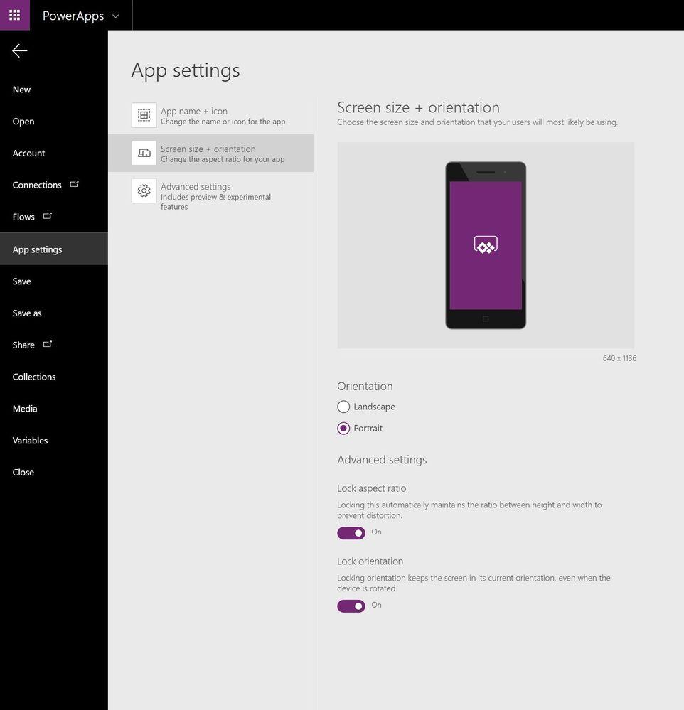 powerapps - screen settings.jpg