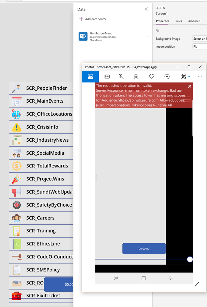 Sharepoint Connector error.PNG