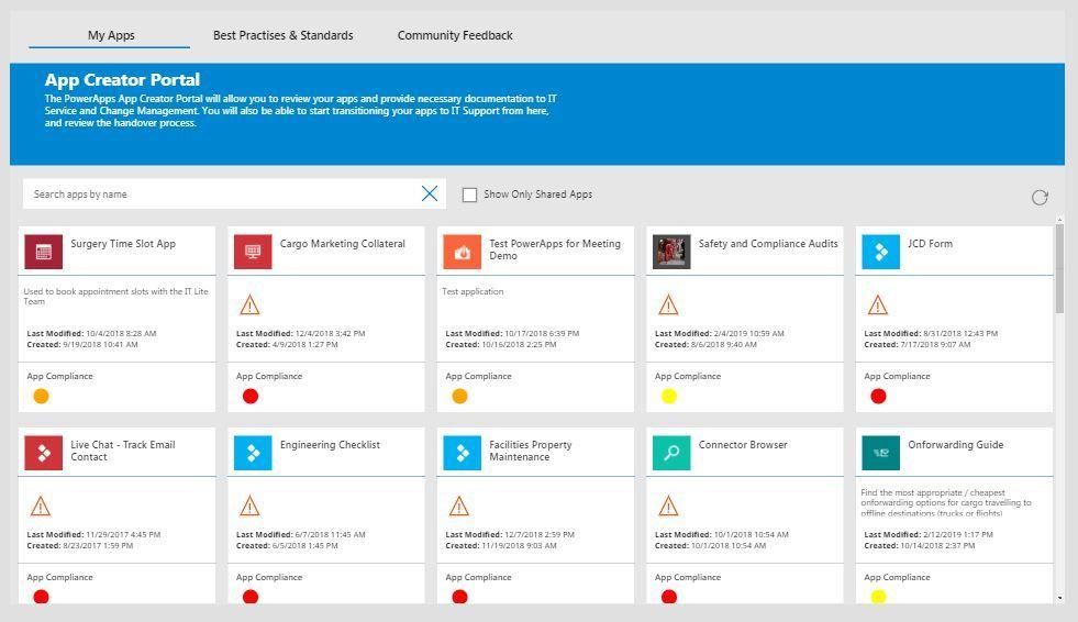 app creator portal  version 1