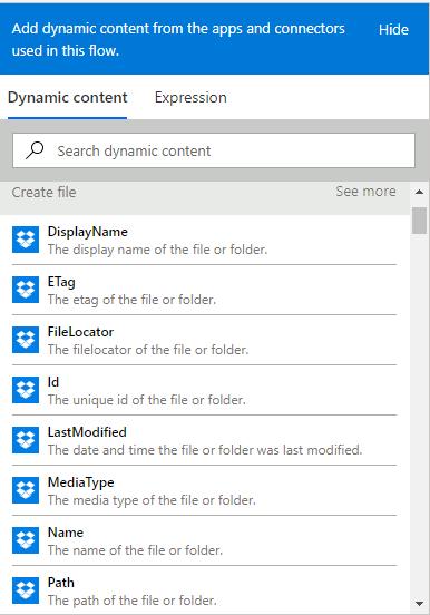 Solved: Get clickable Dropbox URL - Power Platform Community