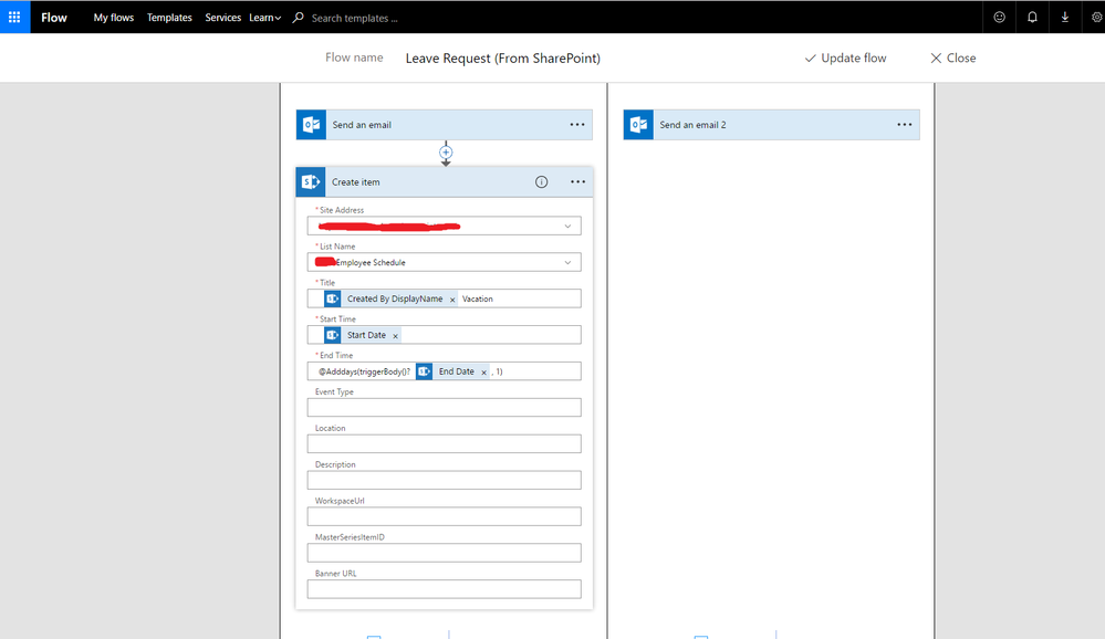 solved creating all day event in sharepoint from approve