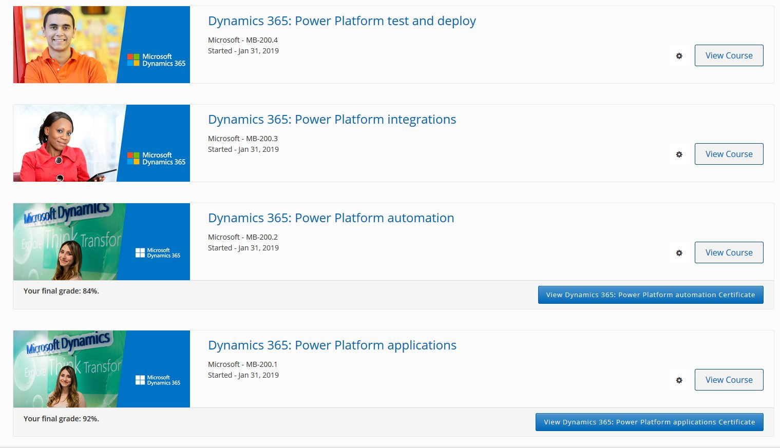 PowerApps (and Flow) Certification - Power Platform Community