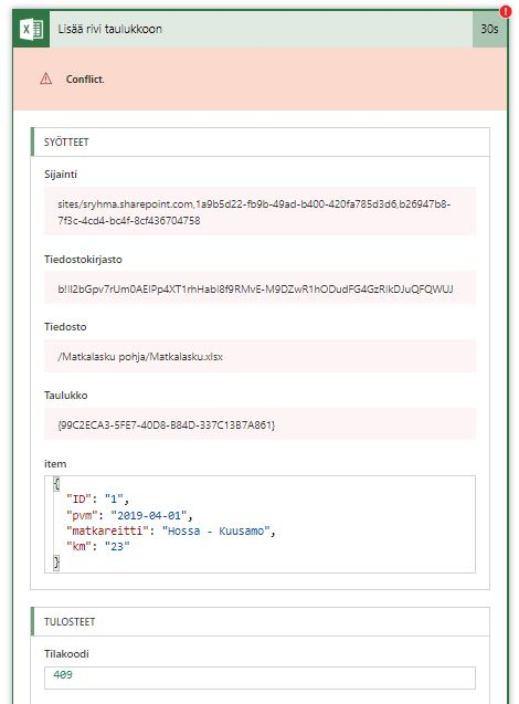 http response code 409. http response message conflict