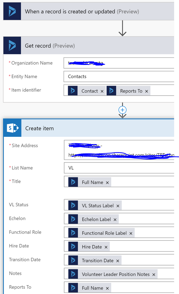 two contact lookups to sharepoint list.PNG