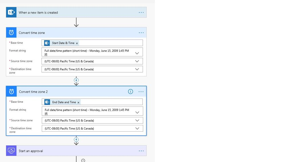 Solved: Formatting Date And time in MS Flow - Power Platform Community