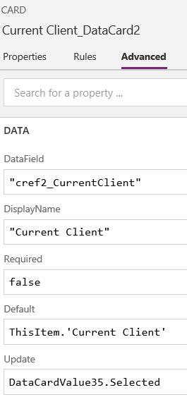 DataCard properties current client.PNG