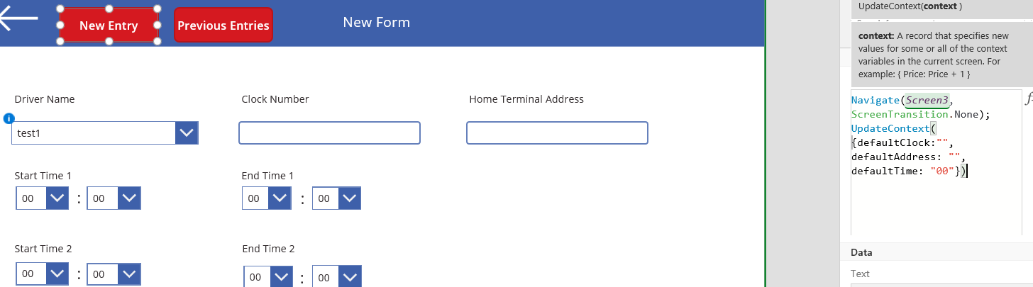 Solved: How to clear text input fields? - Power Platform