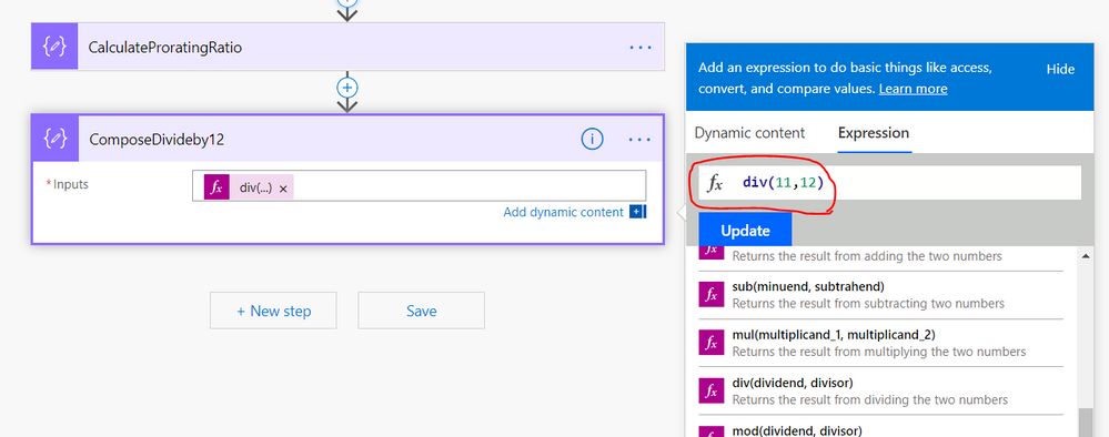 How to get Microsoft flow to approximate correctly - Power