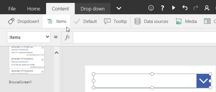 Solved: Powerapps BInding to dropdown control? - Power